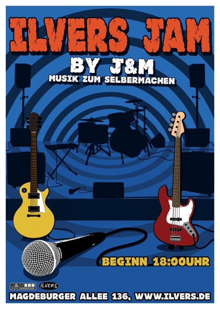 24.11.2012 - Ilvers Jam by J&M präsentiert von J&M Musikland  Musik zum Selbermachen…  Eintritt frei!